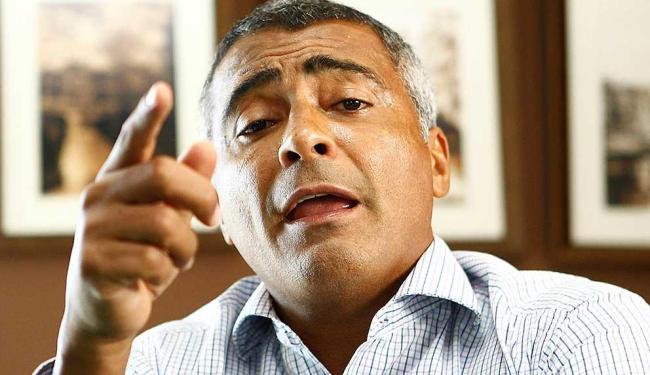 Romário, deputado federal e ex-jogador da Seleção - Foto: Eduardo Martins | Ag. A TARDE