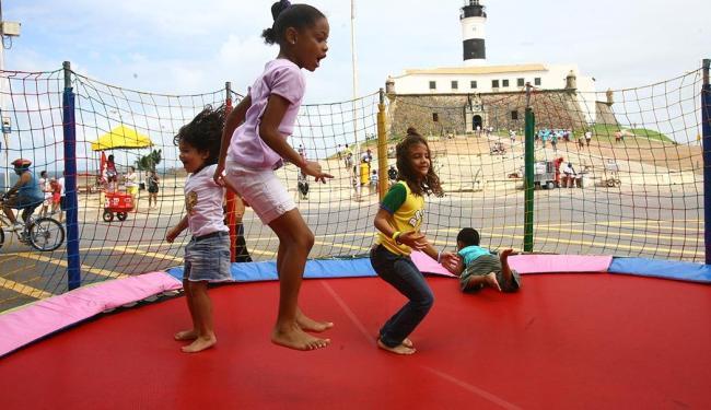 Crianças também terão diversão garantida - Foto: Luciano da Matta   Ag. A TARDE
