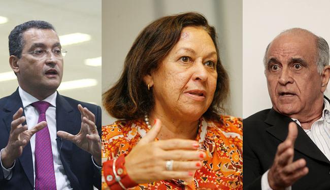Rui Costa e Souto têm agenda no interior e Lídice na capital - Foto: Lúcio Távora, Margarida Neide e Mila Carneiro   Ag. A TARDE