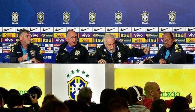 Integrantes da comissão falam sobre a preparação da Seleção na Granja Comary - Foto: Gaspar Nóbrega l VIPCOMM