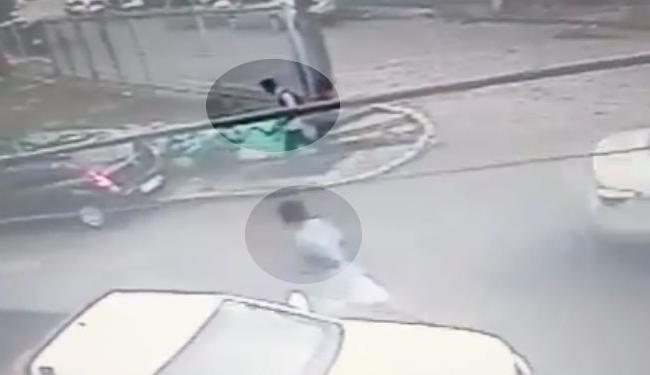Imagens dos suspeitos de terem matado a professora em Vila Laura - Foto: Reprodução | YouTube