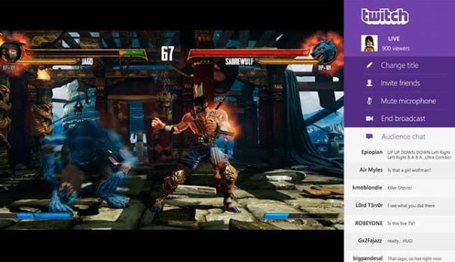 Twitch é um local onde games colocam vídeos de seus jogos - Foto: Reprodução