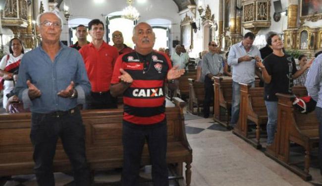 Série de eventos pela passagem dos 115 anos do clubes são abertos com uma missa no Bonfim - Foto: Divulgação | E.C. Vitória