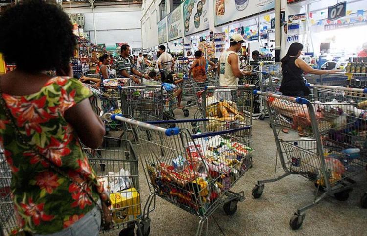 Decreto reconhece o setor supermercadista como atividade essencial da economia - Foto: Margarida Neide   Ag. A TARDE