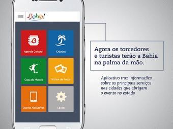 O aplicativo dispõe de endereços e telefones de equipamentos turísticos - Foto: Clarice Freire/GOVBA