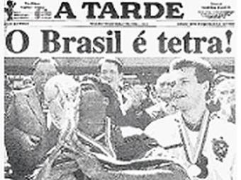 Público poderá ver como jornal destacou campanhas vitoriosas do Brasil - Foto: Reprodução