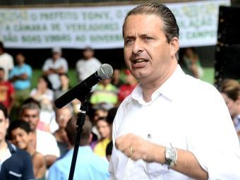 Eduardo Campos é candidato à presidência - Foto: Aluisio Moreira | SEI | Divulgação