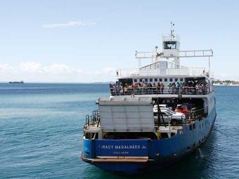 Tempo de espera de passageiros varia entre 30 e 45 minutos no sistema ferryboat - Foto: Fernando Amorim | Ag. A TARDE