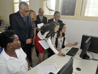 A unidade funciona no Fórum Ruy Barbosa - Foto: Nei Pinto | Ascom | Divulgação