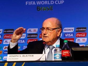 Blatter disse que a Fifa estava feliz em sediar a Copa do Mundo no Brasil - Foto: Eduardo Martins   Ag. A TARDE