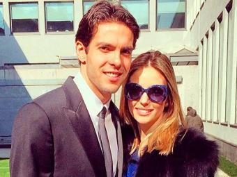 Kaká e Carol se casaram em 2005, em São Paulo, após três anos de namoro - Foto: Instagram   Reprodução