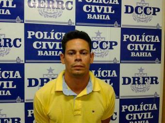 Moisés admitiu que atacaria, juntamente com alguns comparsas, os vigilantes de um carro-forte - Foto: Divulgação | ASCOM Polícia Civil