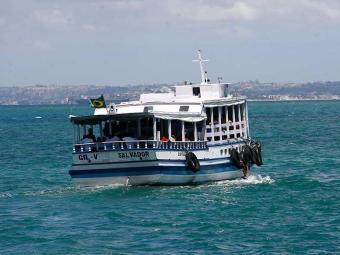 Travessia para a Ilha de Itaparica acontece normalmente - Foto: Fernando Amorim   Ag. A TARDE