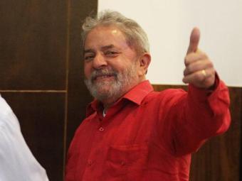 Estrela do encontro, o ex-presidente Lula falou a portas fechadas para prefeitos - Foto: Lúcio Távora | Ag. A TARDE