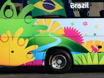 Bahia fornece pneu dos ônibus da copa - Foto: Divulgação Continental