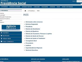 Site da Previdência Social - Foto: Reprodução