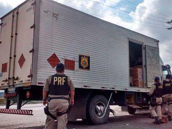 Policiais identificaram uma série de irregularidades na apreensão - Foto: Divulgação | PRFBA