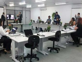 Sala do Centro Integrado de Operações Conjuntas da Saúde de Pau Miúdo - Foto: Divulgação | SMS