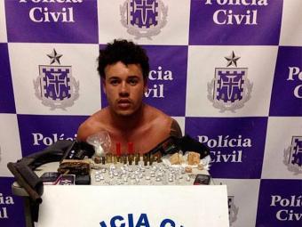 As drogas, as armas e as munições foram encaminhadas para perícia - Foto: Ascom/PC   Divulgação