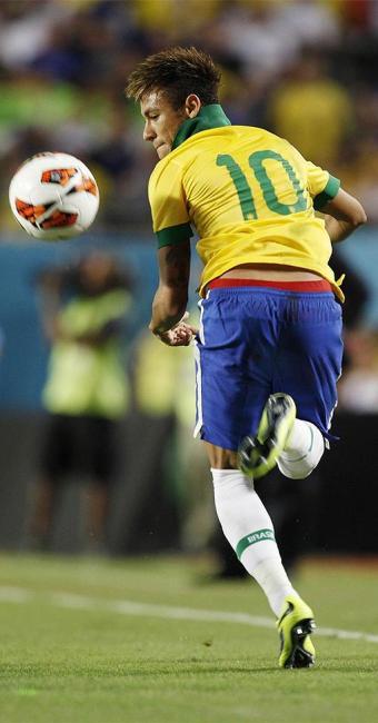 Neymar, craque da seleção brasileira, será o camisa 10 do time - Foto: Rafael Ribeiro l CBF