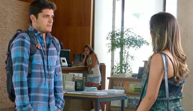 André pede para Bárbara não ficar com Lucas - Foto: TV Globo | Reprodução