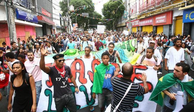 Objetivo é evitar violações da polícia contra as manifestações durante a Copa - Foto: Fernando Amorim   Ag. A TARDE