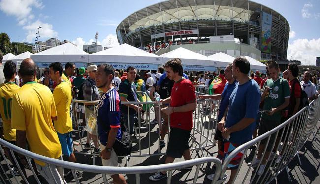 Pelo menos três postos de saúde fica no entorno da Arena Fonte Nova - Foto: Raul Spinassé | Ag. A TARDE