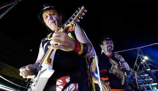 Guitarra baiana de Armandinho vai inaugurar a Fan Fest Salvador - Foto: Raul Spinassé | Ag. A TARDE