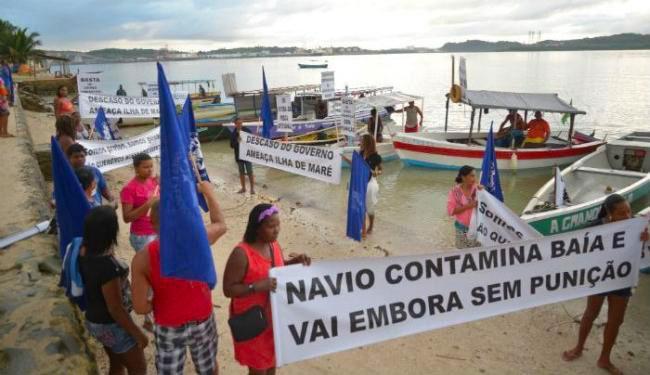Grupo aproveitou o Dia Mundial do Meio Ambiente para denunciar irregularidades na região - Foto: Reprodução