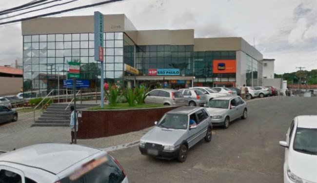 Criminosos renderam seguranças do carro-forte na agência do BB - Foto: Reprodução | Google Maps