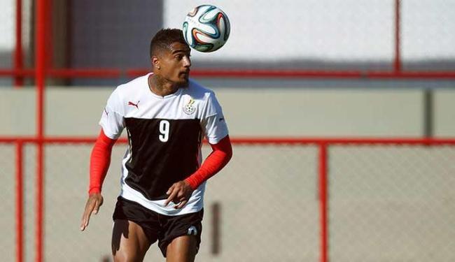 Boateng era a esperança de Gana para se destacar no mundial - Foto: Uéslei Marcelino | Agência Reuters