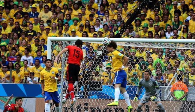 Brasil e México no jogo da última terça-feira, 17 - Foto: VIPCOMM