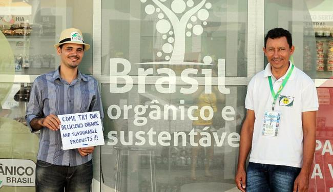 Há quiosques da 'Brasil Orgânico e Sustentável' em mais nove cidades-sede - Foto: Maria Carolina Lopes | Portal da Copa | Divulgação
