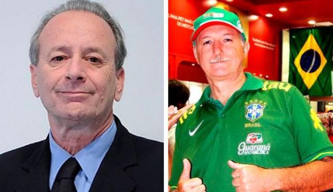 Conti conversou com sósia de Felipão achando que era o próprio treinador da Seleção Brasileira - Foto: Divulgação