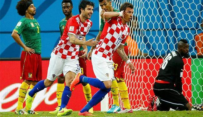 Mario Mandzukic, autor de dois gols, foi o destaque da partida - Foto: Murad Sezer l Reuters