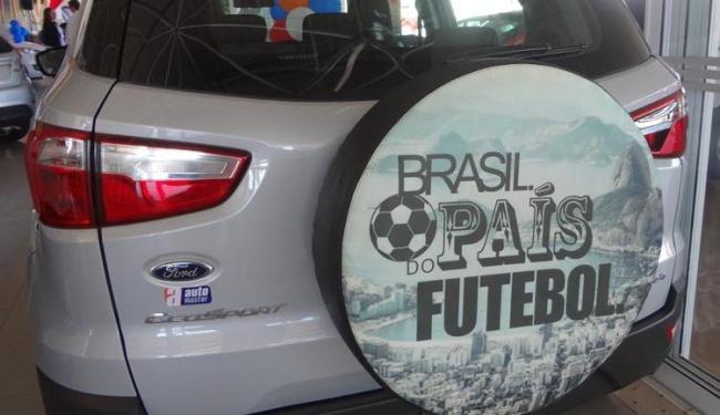 Capas de estepe com tema Brasil - Foto: Divulgação/ Ford