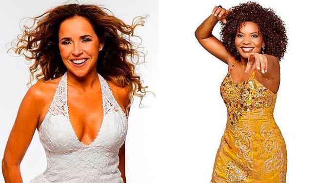 Daniela Mercury e Margareth Menezes levam o samba-reggae para o Bahia Café Hall - Foto: Divulgação