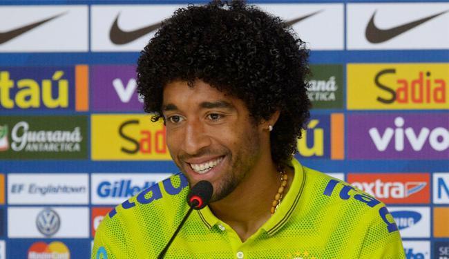 Baiano Dante diz que estar na Seleção Brasileira é um sonho realizado - Foto: Alexandre Loureiro | VIPCOMM