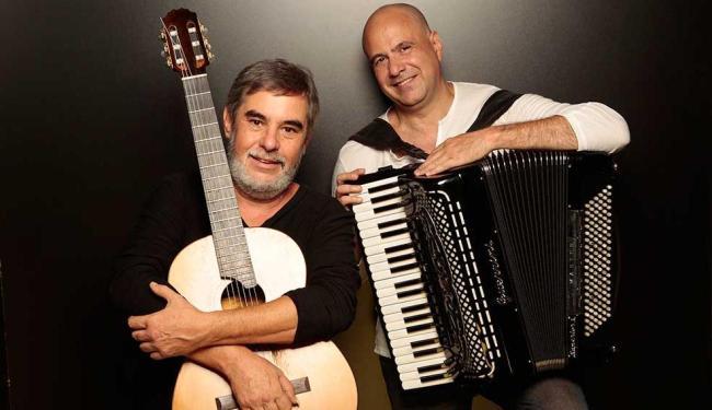 Toninho Ferragutti e Marco Pereira se apresentam na quinta - Foto: Gal Oppido   Divulgação