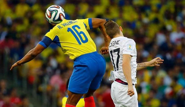 No Maracanã, Equador e França fizeram um jogo disputado, mas sem gols - Foto: Kai Pfaffenbach | Agência Reuters