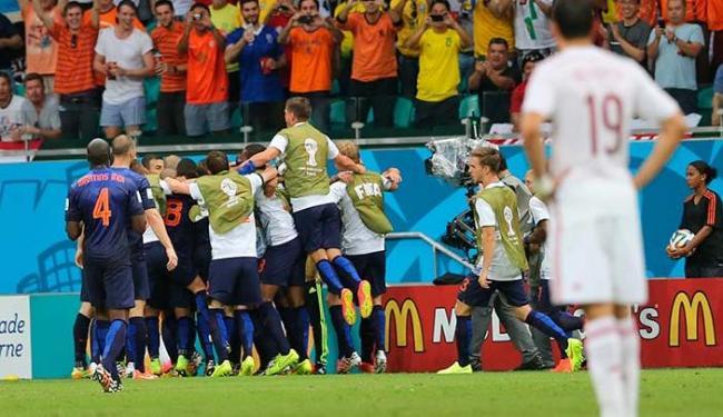 Goleada da Holanda é criticada sem pudores pela mídia espanhola - Foto: Carlos Casaes | Ag. A TARDE