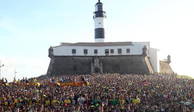 Na Fifa Fan Fest, na Barra, foram registrados 19 casos de violação - Foto: Lúcio Távora | Ag. A TARDE