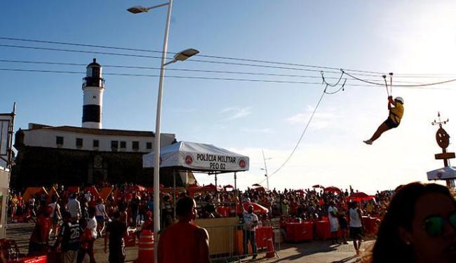 Fan Fest teve 10 mil pessoas a menos na véspera de São João - Foto: Fernando Vivas | Ag. A TARDE
