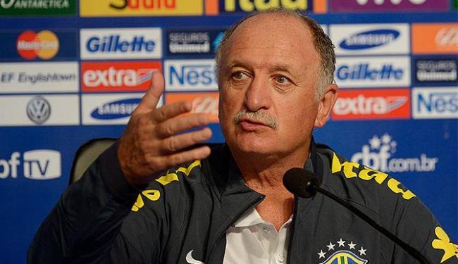 Técnico Felipe Scolari confirmou a escalação da Seleção Brasileira - Foto: Alexandre Loureiro l VIPCOMM