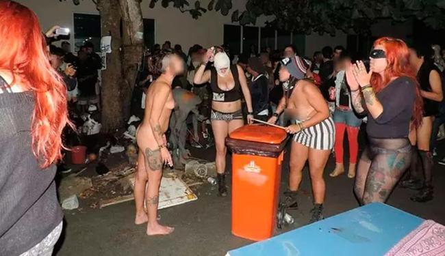 Um dos momentos da festa polêmica na UFF - Foto: Reprodução | Facebook