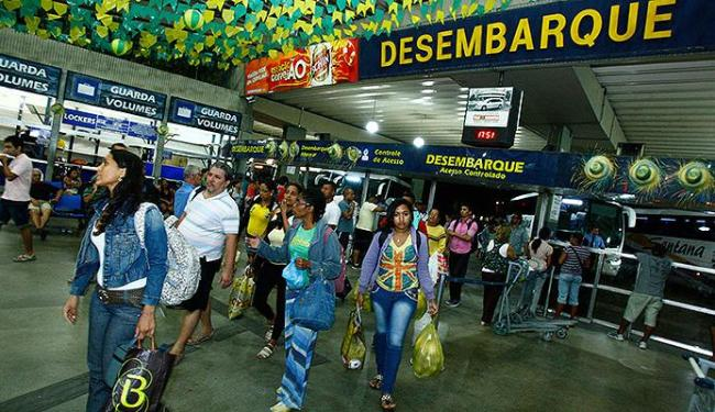Neste domingo, 24, a chegada de pessoas foi constante, mas ainda fraca - Foto: Fernando Vivas | Ag. A TARDE