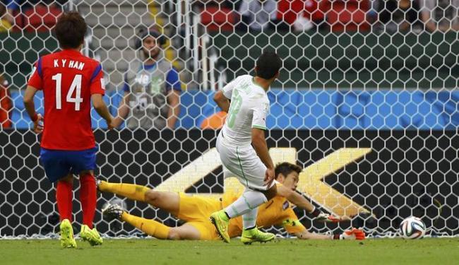 Com uma grande atuação, a equipe do norte da África bateu a Coreia do Sul por 4 a 2 - Foto: Damir Sagolj   Ag. Reuters
