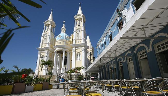 A Catedral de São Sebastião é um dos símbolos do município de Ilhéus que completa 480 anos - Foto: Joá de Souza | Ag. A TARDE