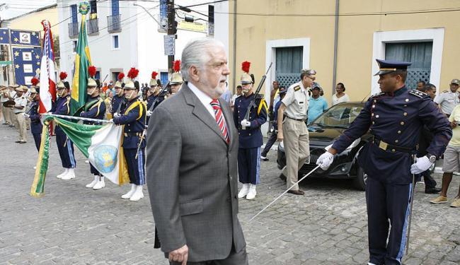 Jaques Wagner participa da solenidade em Cachoeira - Foto: Marco Aurélio Martins   Ag. A TARDE