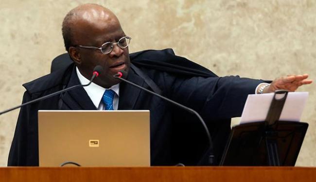 Presidente do STF foi interrompido por advogado de Genoíno - Foto: Estadão Conteúdo